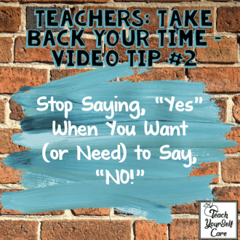 """Stop Saying, """"Yes"""" When You Want (or Need) to Say, """"NO!"""""""