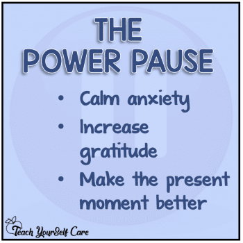 The Power Pause